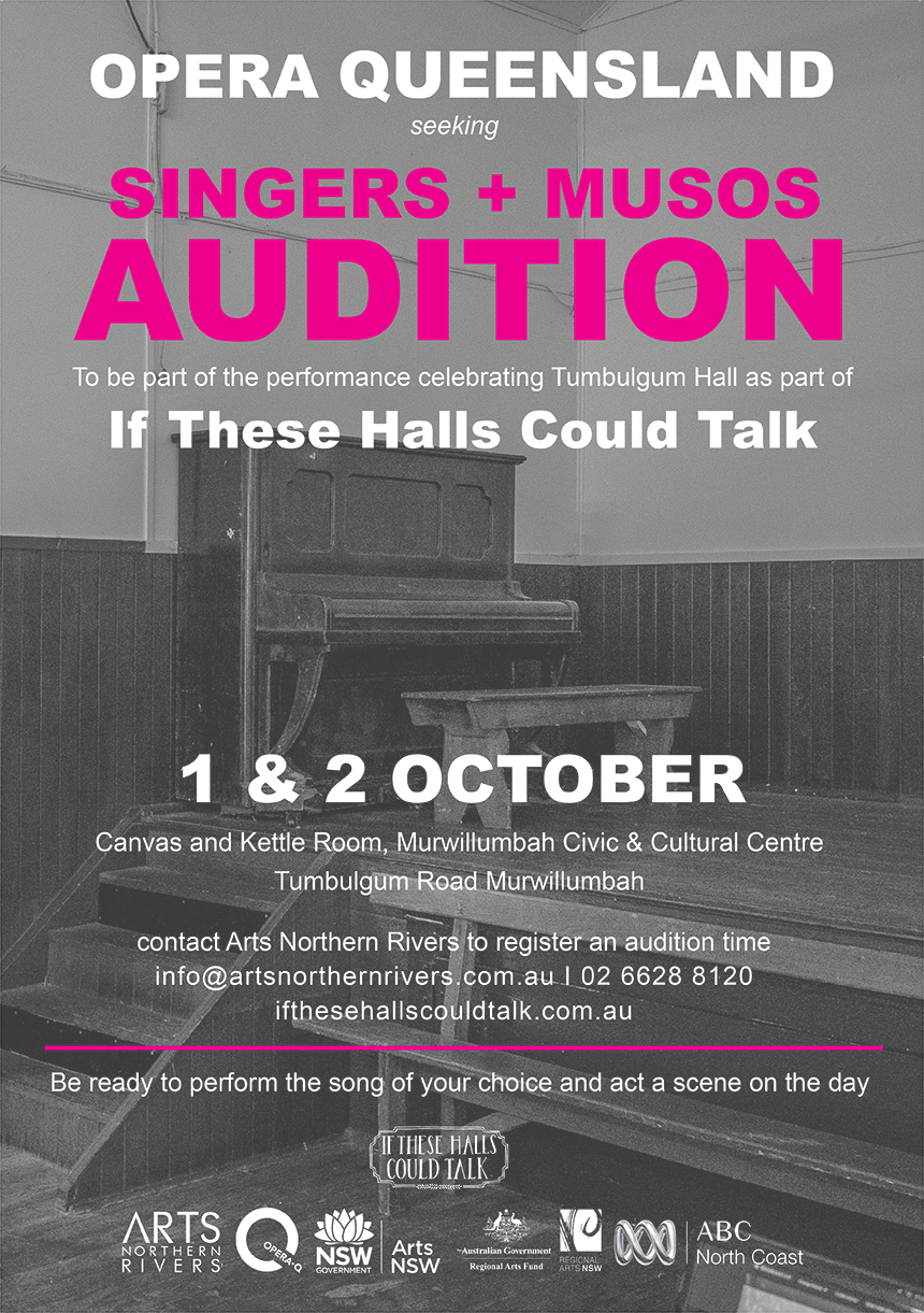 ITHCT Auditions poster A3 final